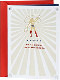 Hallmark Mothers Day Card for Mom (Wonder Woman Silhouette)