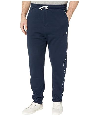 Nautica Big & Tall Big Tall Knit Track Pants (Blue) Men