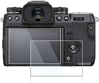 debous Glass Screen Protector Compatible Fujifilm Fuji X-H1 xh1,0.3mm Thickness 9H Hrad Screen Protector for Fujifilm X-H1 Mirrorless Camera (2pcs)