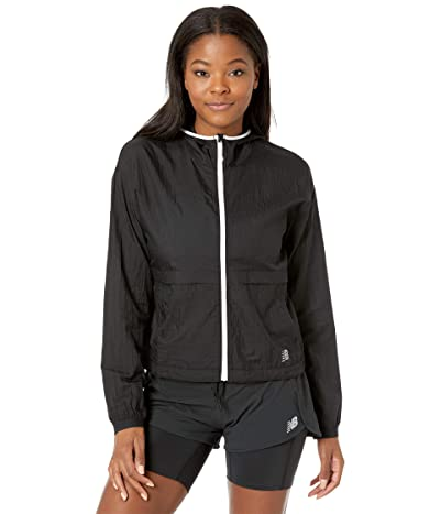 New Balance Impact Run Light Pack Jacket (Black) Women