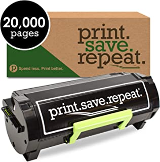 Print.Save.Repeat. Lexmark 56F1X00 Extra High Yield Remanufactured Toner Cartridge for MS421, MS521, MS621, MS622, MX421, MX521, MX522, MX622 [20,000 Pages]