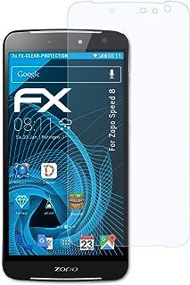 atFoliX Skärmskyddsfilm är kompatibel med Zopo Speed 8 Film, ultra-klar FX Skyddsfilm (3X)