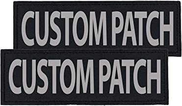 custom velcro dog patches