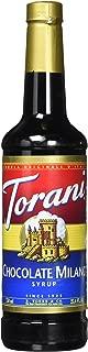 Torani Chocolate Milano Syrup, 750 Ml PET Plastic Bottle