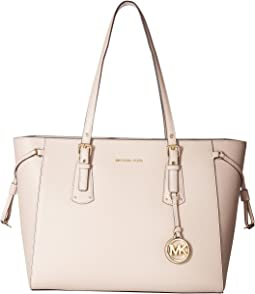 88484d58a86479 MICHAEL Michael Kors. Voyager Medium Multifunction Top Zip Tote. $278.00.  Soft Pink