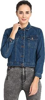 KOTTY Womens Full Sleeve Denim Jacket