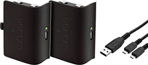 Venom Xbox One Rechargeable Battery Twin Pack: Black (Xbox One)