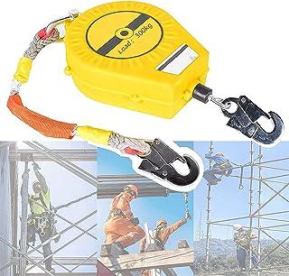 自動引き込み式ライフライン ケーブル引き込み式ツール ストラップ、高地ガーディアン 落下防止、セルフ ロッキング フック付き、最大荷重 300kg、高地個人用保護具