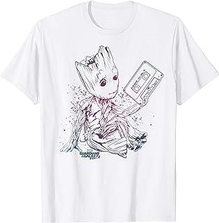 Marvel Guardians Vol. 2 Groot Tape Gradient T-Shirt