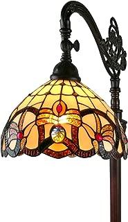 Amora Lighting AM272FL11 Tiffany Style Arched Floor Lamp 62