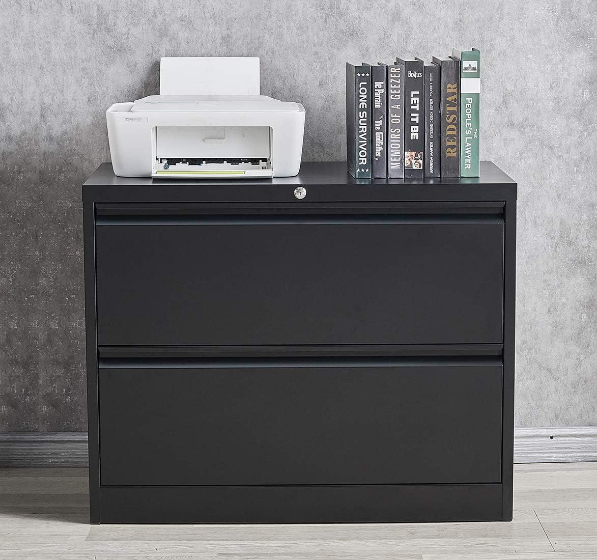Metal Lateral File Cabinet with Filing Drawer wi Over item handling Lock 2 Regular dealer