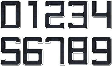 Paulmann 79844 LED Solar Hausnummer 3 IP44 Warmweiß Akku wechselbar incl. 1x0,2 Watt Solarleuchte Schwarz Solarlampe Kunst...