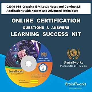 C2040-986 Creating IBM Lotus Notes and Domino 8.5 Applications with Xpages and Advanced TechniquesCertification Online Video Learning Made Easy