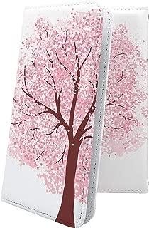 AQUOS R2 compact/SH-M09 ケース 手帳型 サクラ 桜 小桜 夜桜 花柄 花 フラワー アクオスアール コンパクト アクオスアール2 アクオスコンパクト 手帳型ケース 和柄 和風 日本 japan 和 aquosr2 shm09 aquosr2compact おしゃれ