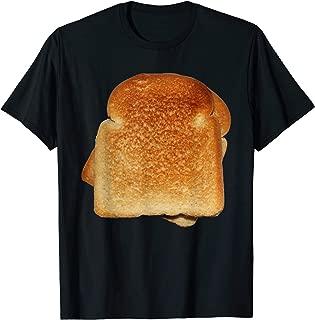 Bread Toast Shirt Matching Gift Funny Halloween Costume T-Shirt