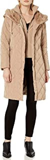 Cole Haan Women's Diamond Quilted Taffeta Down Coat