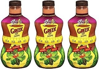 3 Zeros Salad Dressing 16 fl oz. 3pack (Greek)