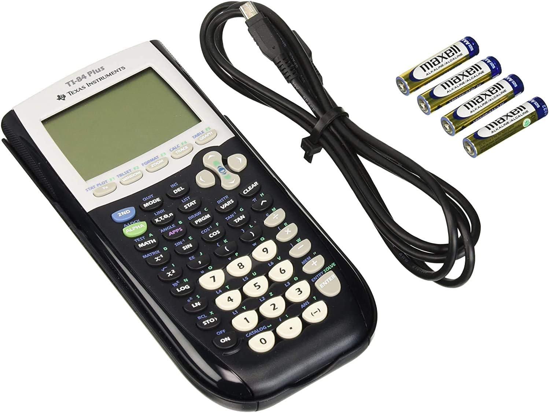 Fesjoy /Étui de Transport Rigide en EVA pour Calculatrice Graphique Compatible avec Texas Instruments TI-84 Plus Calculatrice Graphique Antichoc /étui de Transport Sac de Protection de Voyage