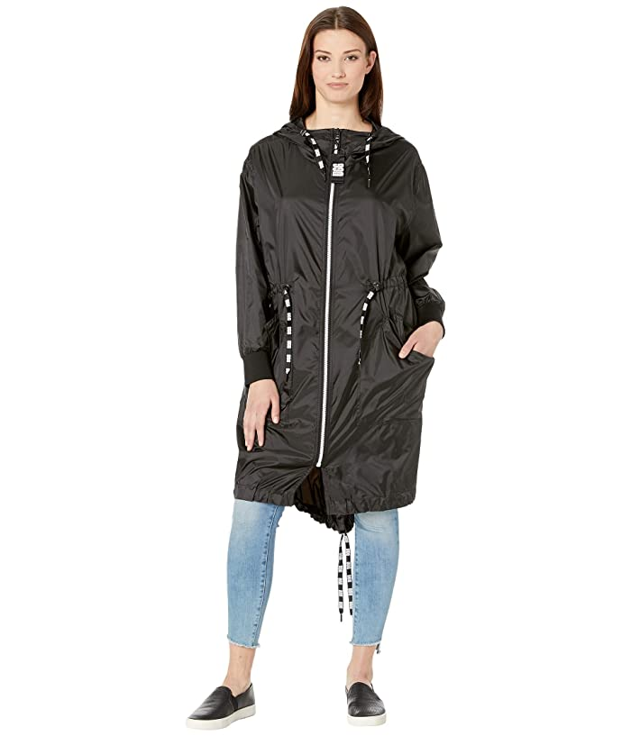 UGG  Carinna Hooded Anorak (Black) Womens Coat