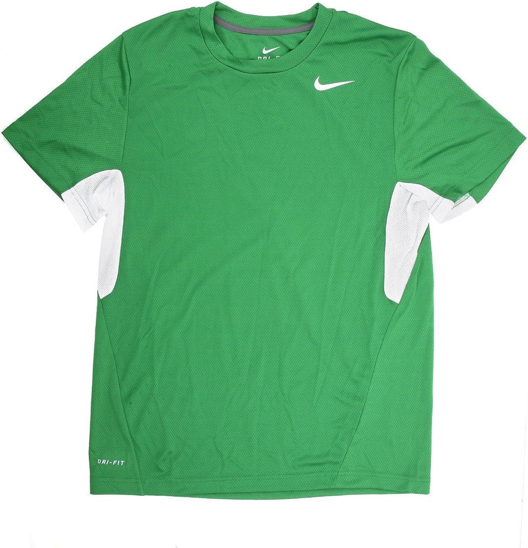 Nike NIKE050634 NIKE050634 NIKE050634 Men's Vapor Green White Dri-Fit Tee Shirt-Small 64d13d
