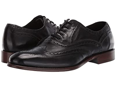 J&M EST. 1850 Bryson Wingtip (Black) Men