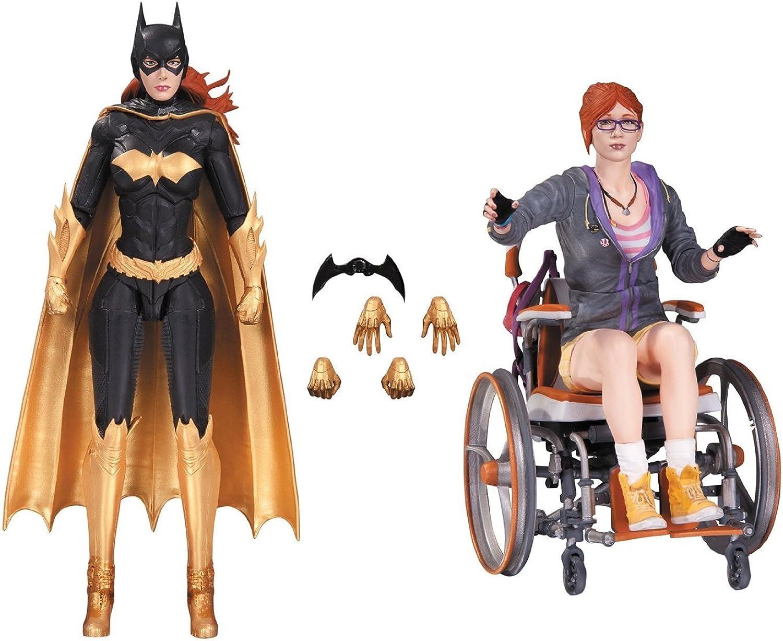 "Batman JUN160387Arkham Knight Batgirl Oracle"" Action-Figuren (2Stück)"