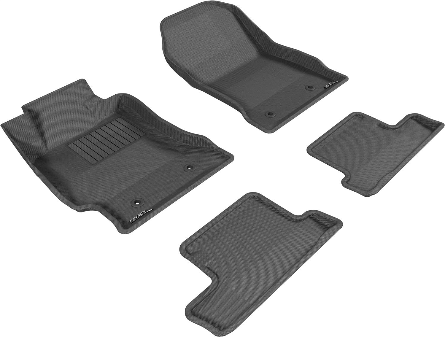 4 years warranty Our shop OFFers the best service 3D MAXpider All-Weather Floor Mats FR-S Cust for 2013-2016 Scion
