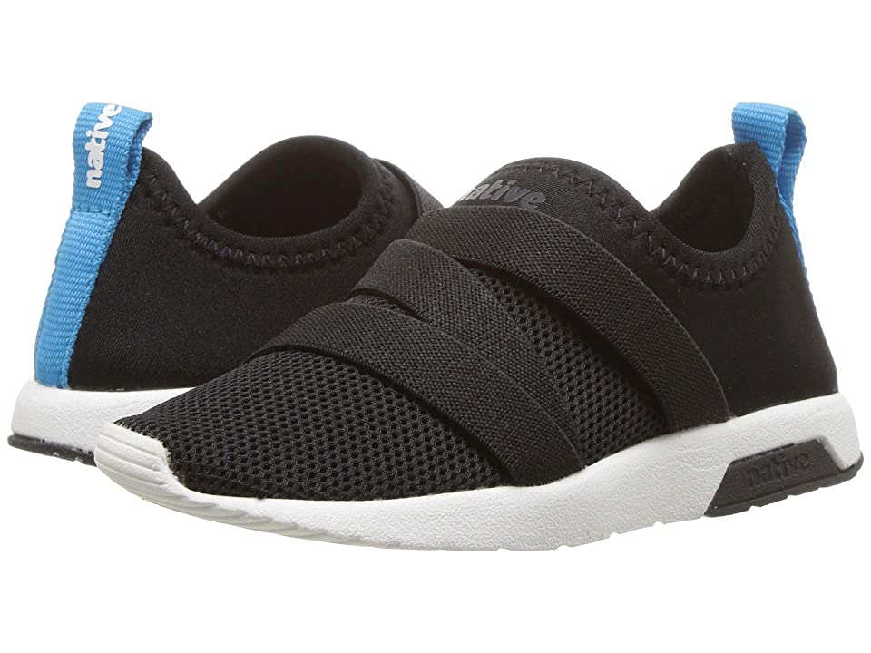 Native Kids Shoes Phoenix (Toddler/Little Kid) (Jiffy Black/Shell White) Kids Shoes