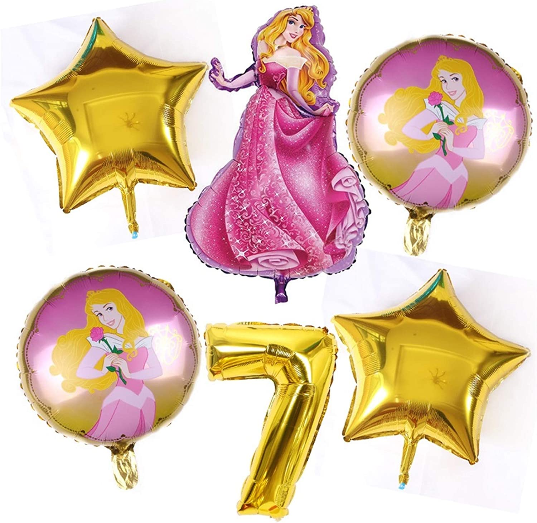 JZYZSNLB Balloon 6pcs Large Max 67% OFF Foil Ranking TOP14 De Balloons Birthday Baby Party