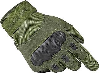 FREE SOLDIER Outdoor - Guantes Tácticos para Hombre, Transpirables y Resistentes al Desgaste, Otoño/Invierno Primavera/Verano, Hombre