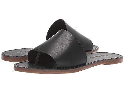 Madewell Boardwalk Post Slide Sandal (True Black) Women