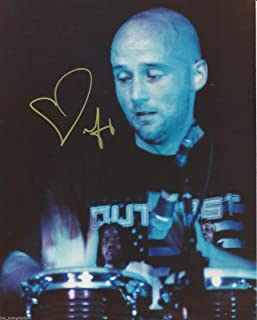 Moby Legendary DJ REAL hand SIGNED 8x10 Photo #2 with COA Dubstep Electronica