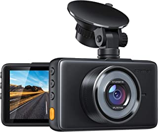 "APEMAN Dash Cam 1080P FHD DVR Car Driving Recorder 3"" LCD Screen 170°Wide Angle, G-Sensor, WDR, Parking Monitor, Loop Reco..."