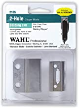 Wahl Professional Balding 6X0 Clipper Blade 2105 - Fits the 5 Star Series Balding Clipper - Includes Oil, Screws, and Instructions