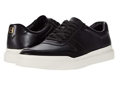 Cole Haan Grandpro Rally Court Sneaker (Black/White) Men