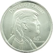 2016 No Mint Mark Donald J. Trump Memorabilia Silver Round 1 Seller proof