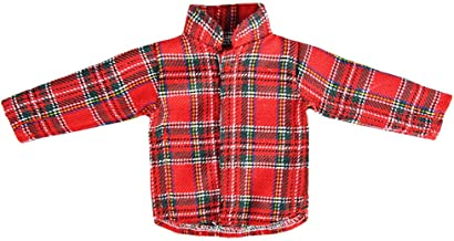 E-TING Santa Couture Clothing for elf (Long Sleeved T-Shirt) Doll is not Included