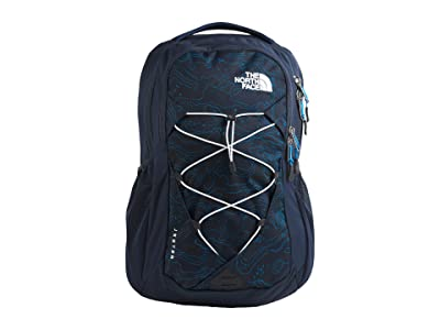 The North Face Jester Backpack (Urban Navy Little Yose Print/Urban Navy) Backpack Bags