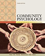 Bundle: Community Psychology: Linking Individuals and Communities, 3rd + InfoTrac College Edition Printed Access Card