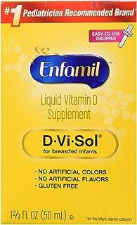 Enfamil 美贊臣 D-Vi-Sol維生素D補充劑滴劑,50毫升(2支裝)