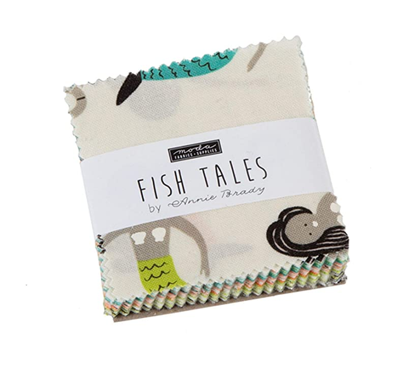 Fish Tales Mini Charm Pack by Annie Brady; 42-2.5