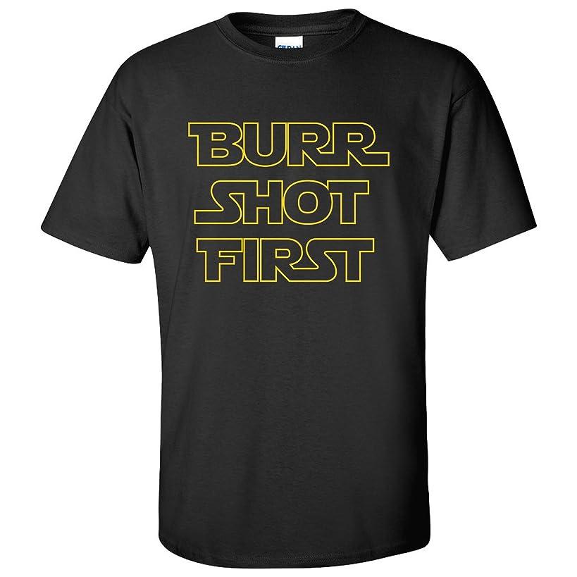 Burr Shot First Basic Cotton T-Shirt