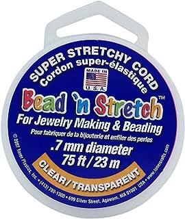 Toner Plastics 0.7mm Clear Bead N Stretch