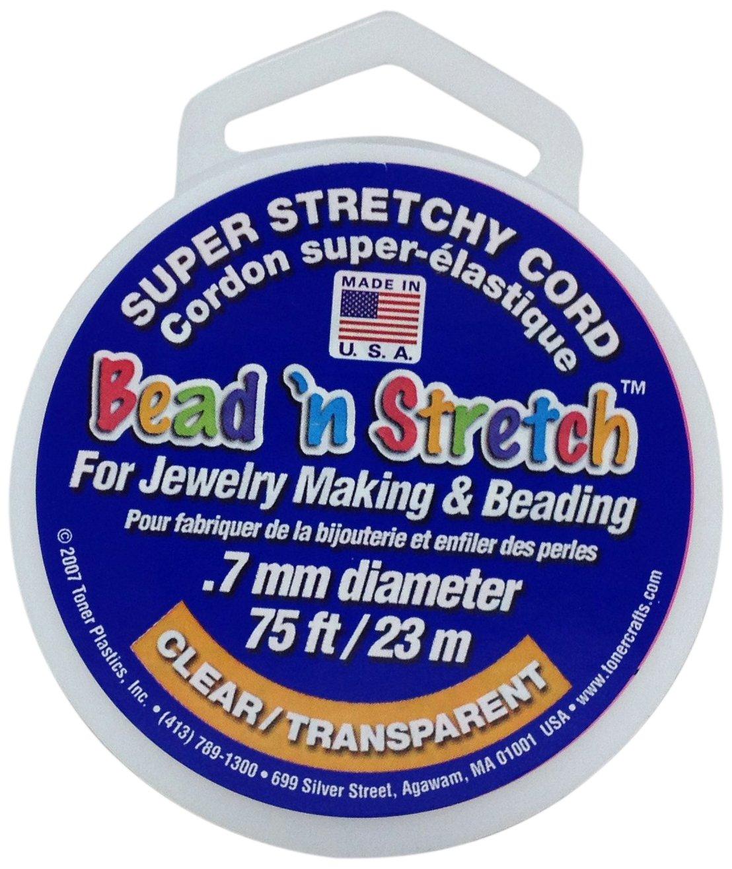 Toner Plastics 0 7mm clear Stretch