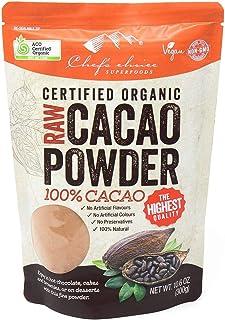 シェフズチョイス オーガニックローカカオパウダー 300g 有機ローココア100% Organic Raw Cacao Powder