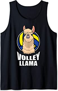 Volley Llama Volleyball Tank Top
