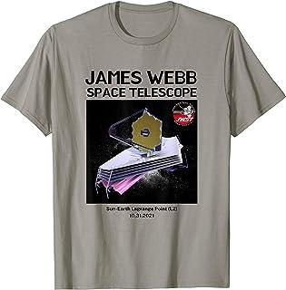 James Webb JWST Launch Télescope spatial T-Shirt