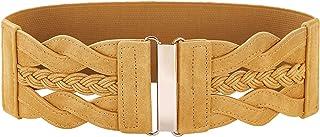 GRACE KARIN Women's Elastic Vintage Belt Stretchy Retro Wide Waist Cinch Belt