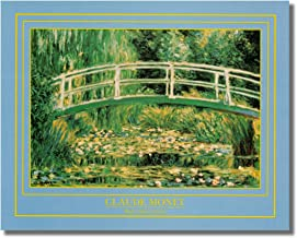 Water Lilies Giverny under Bridge Claude Monet Wall Picture 8x10 Art Print