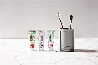 Bonabits K-Beauty Premium Natural Bee Propolis Toothpaste, 30g - 3 Pack Multi-Flavor, Mini Toothpaste